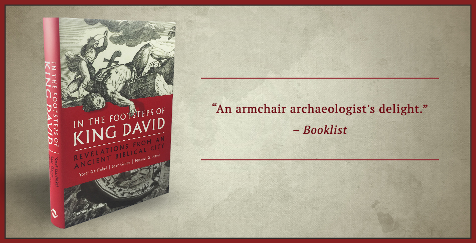 In the Footsteps of King David Learn More